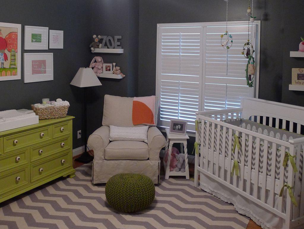 zoë s grey and green modern nursery nursery dresser knobs and