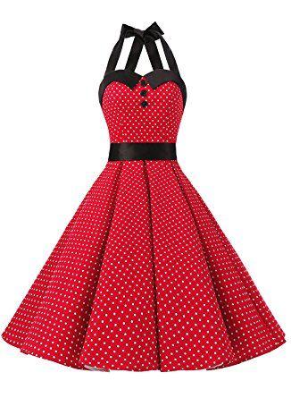 Kleider der 50er und 60er