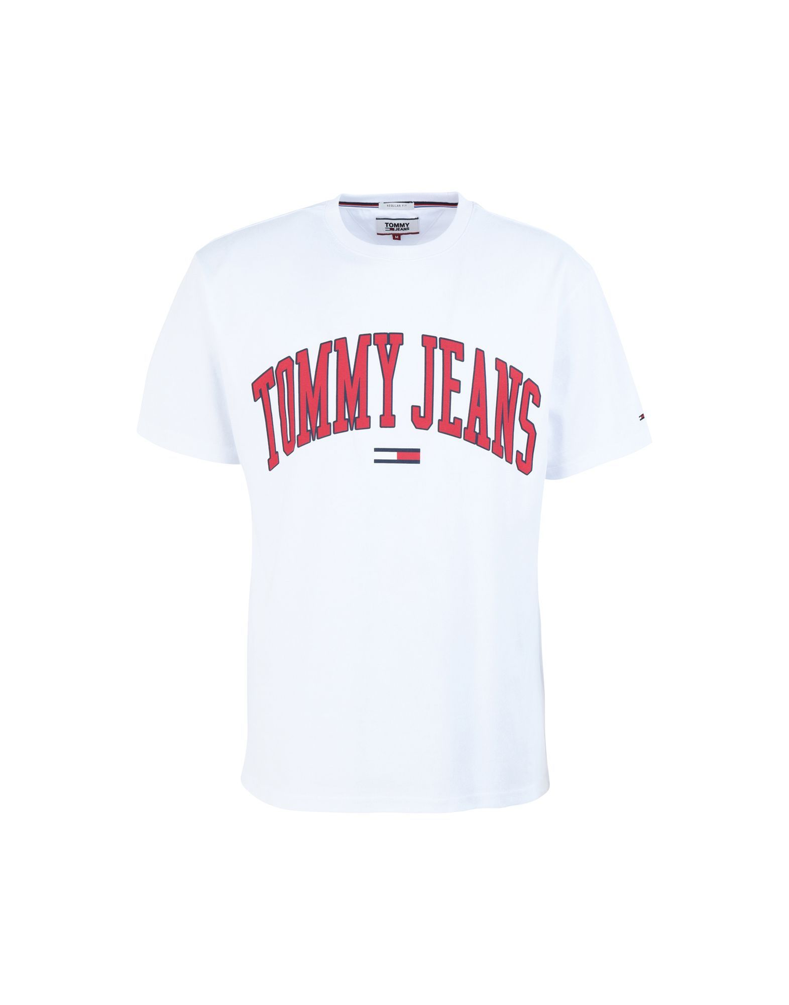 82bf2e23 Tommy Jeans printed logo T-shirt in 2019 | Products | Print logo, T shirt,  Shirts