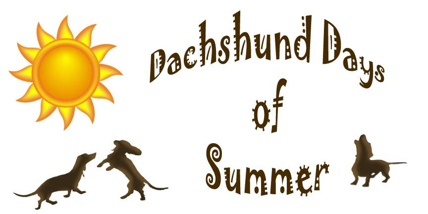 Sign up to be a monthly donor and help save dachshunds! Dachshund Days of Summer