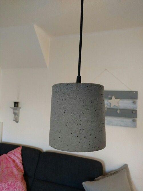 Beton-Lampe DIY | Beton | Pinterest | Lampen und Bastelsachen