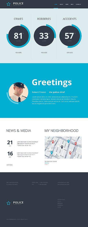 Шаблон TM47100 Тип Шаблоны сайтов $69 Templates Pinterest Web - neighborhood website templates