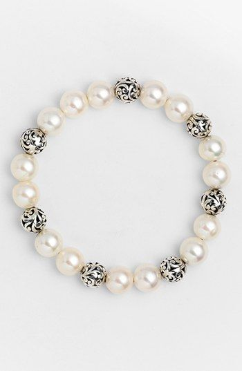 Lois Hill \'Beach\' Pearl Stretch Bracelet available at #Nordstrom ...