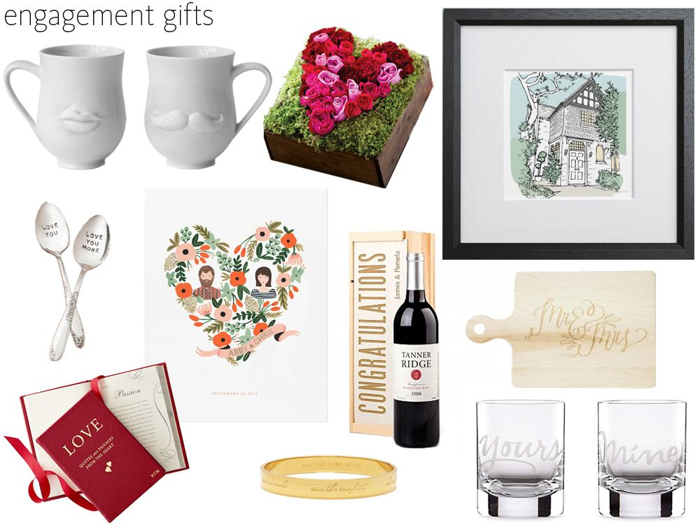 Gift Ideas Wedding Party: 58 Engagement Gift Ideas For The Happy Couple