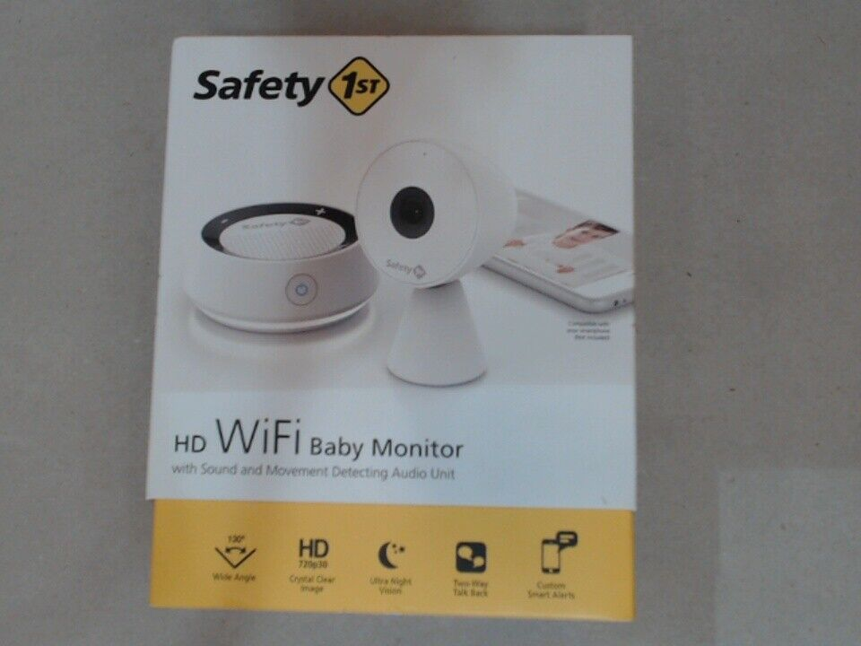 Safety 1st HD WiFi Baby Monitor Camera with Sound and