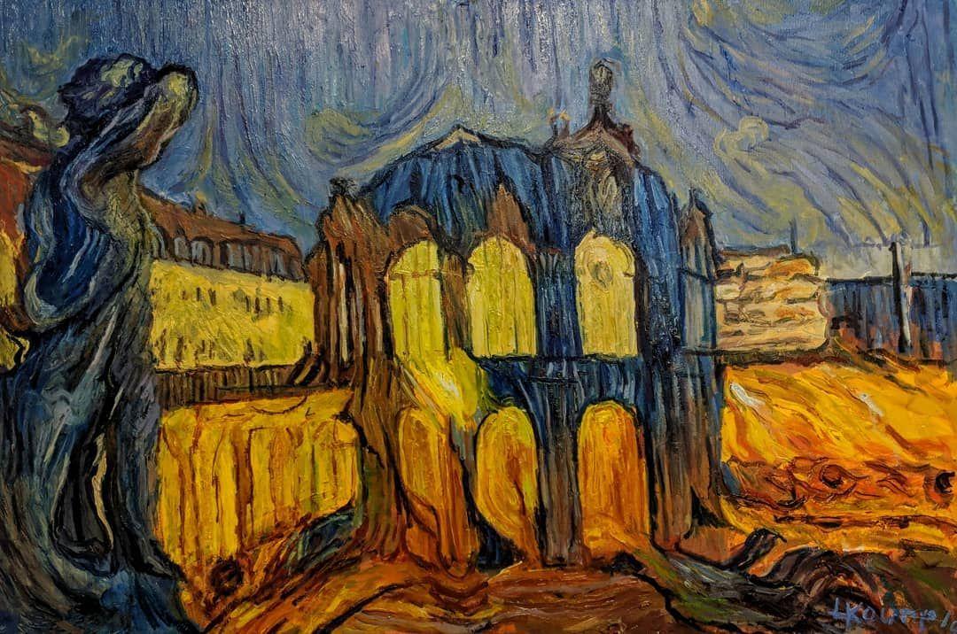 Zwinger Dresden Oil Painting Oil Painting Paintingoncanvas Canvas Impressionism Impasto 印象派 Impresionismo प रभ वव द انطباعية Fine Art Art Painting