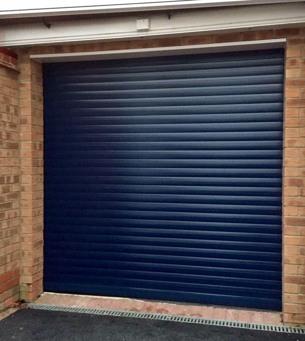 Alluguard 77 Roller Door - French Navy Blue & Alluguard 77 Roller Door - French Navy Blue   Garage doors ...