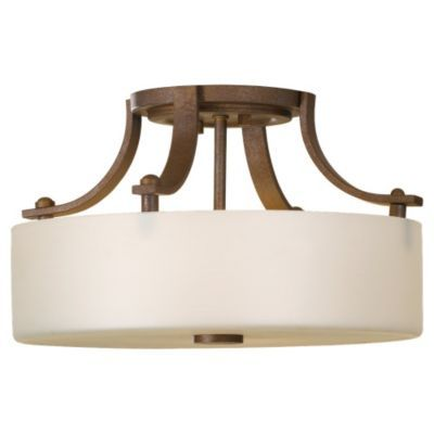 Sunset Drive Semi-Flushmount by Murray Feiss - Height 7.5 In., Diameter 13 In. 199.00