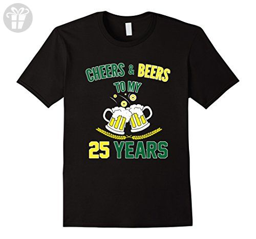 Mens Funny Birthday T shirt for 25 Years Old. 25th Birthday Party Large Black - Birthday shirts (*Amazon Partner-Link)
