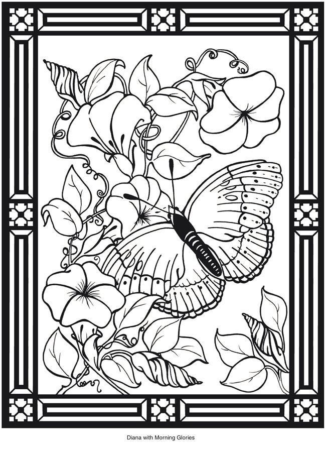 A Dover Publication Sample | dibujos en blanco y negro | Pinterest ...