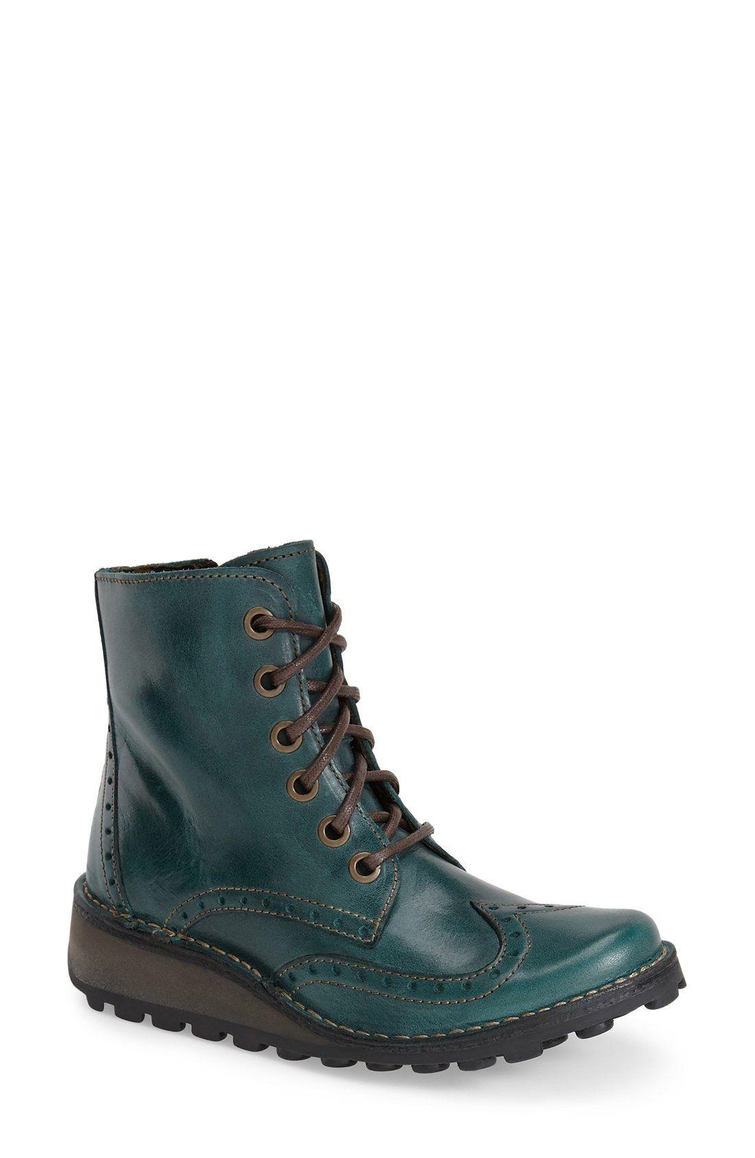 d6e1a221c48 Fly London  Marl  Wedge Boot (Women)