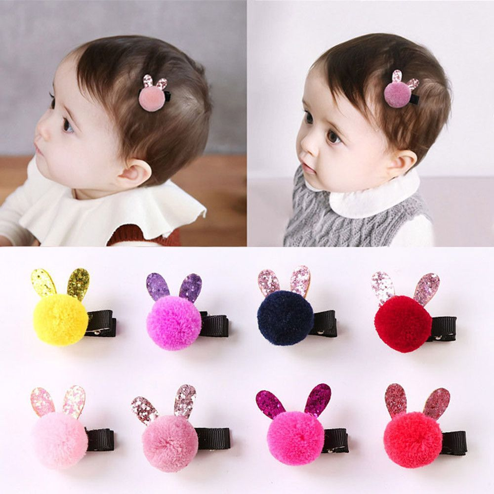 Photo of 1PC Fashion Lovely Barrette Baby Hair Clip Cartoon Rabbit T …
