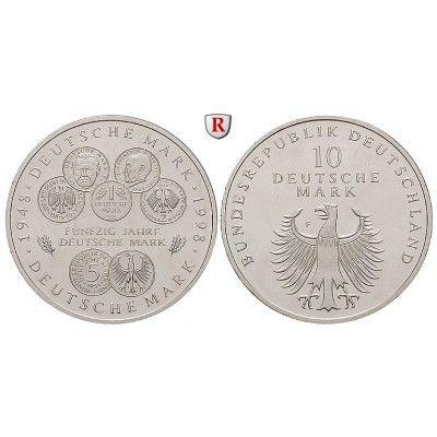 Bundesrepublik Deutschland, 10 DM 1998, PP, J. 469 10 DM