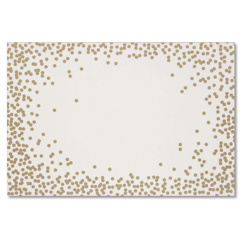 Confetti Paper Placemats.