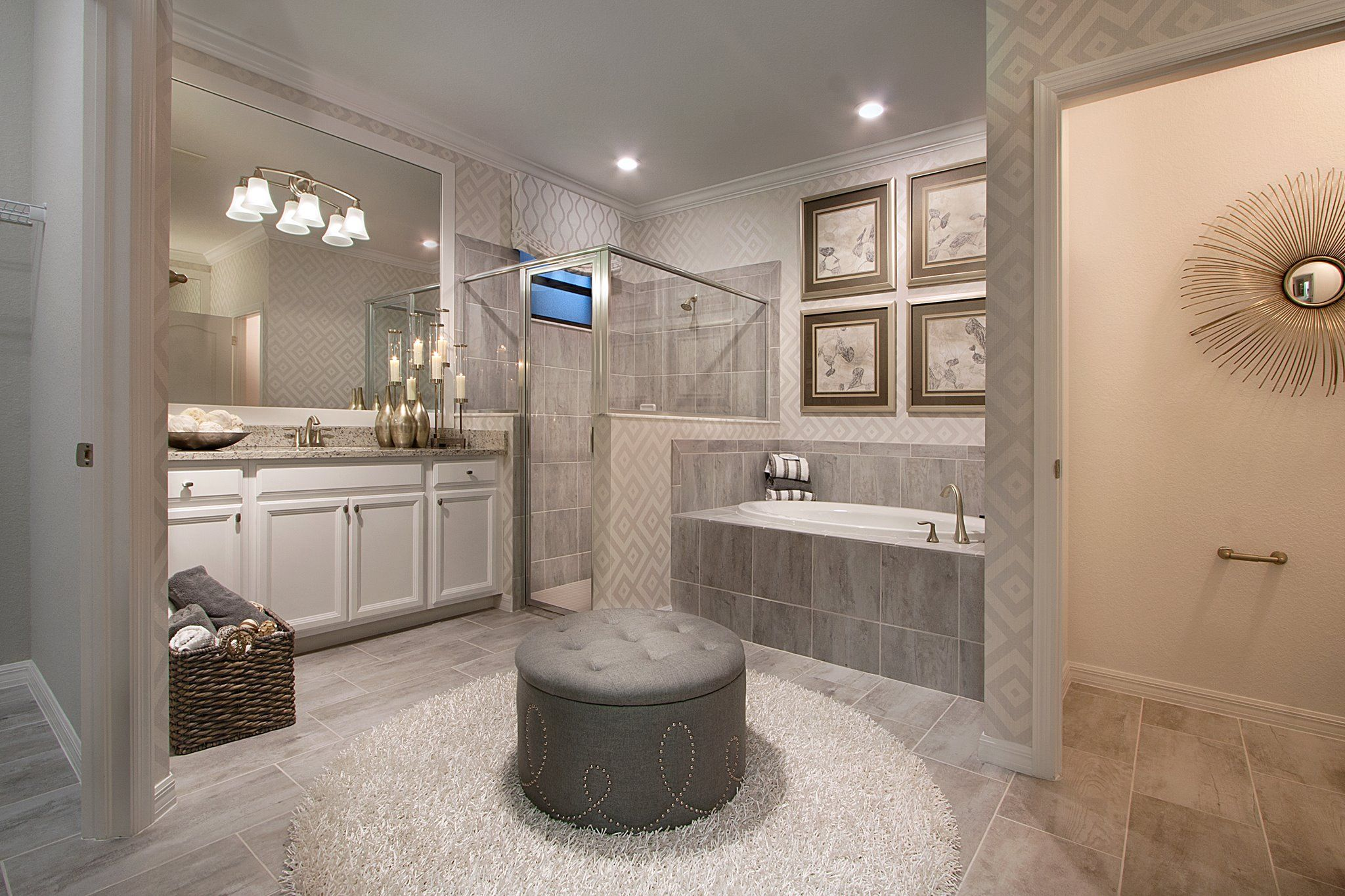 Would You Like To Have An Ottoman In Your Bathroom Dream Bathrooms Mold In Bathroom Modern Bathroom Design New home bathroom design