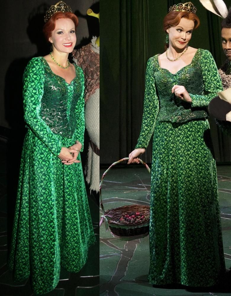 princess fiona in shrek the musical another sort of costume