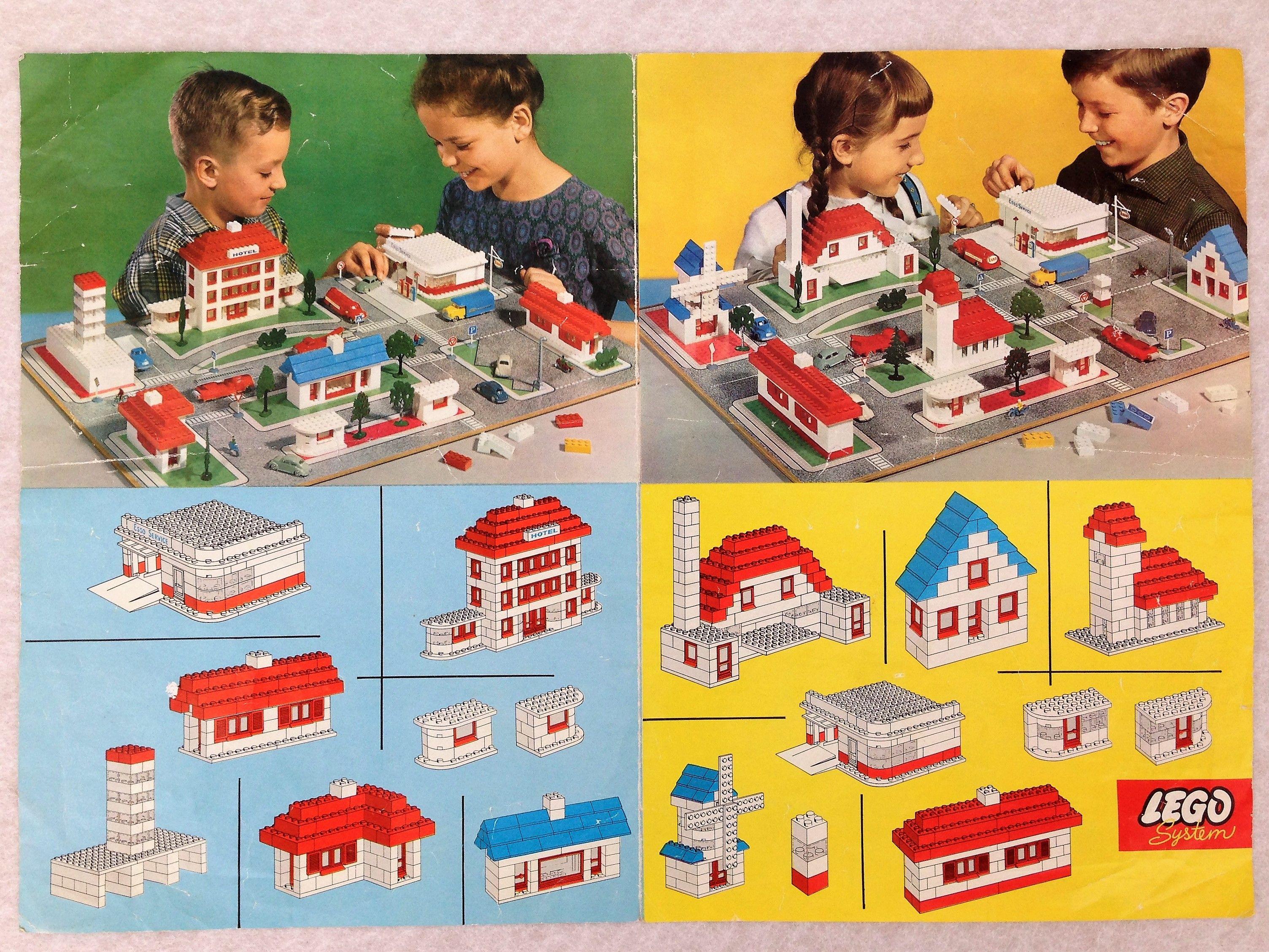 Rare Lego 810 City Instruction Plans Sheet 2