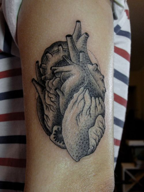 A cool collection of people wearing anatomical designs under their ...