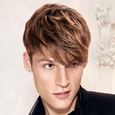 Wella Professionals Lookbook Dyed Hair Men Brown Hair Men Men Hair Color