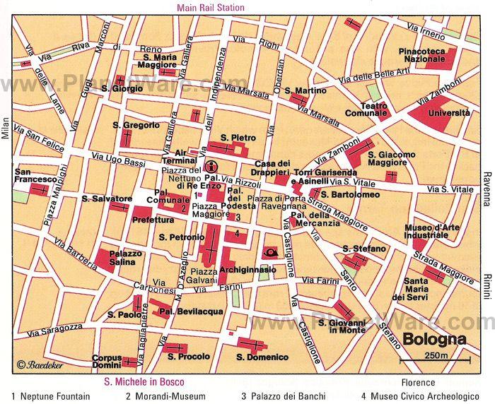 fintyre bologna map - photo#14