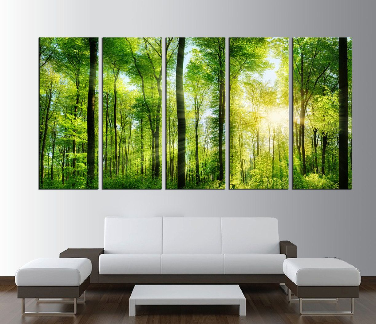 forest canvas art print