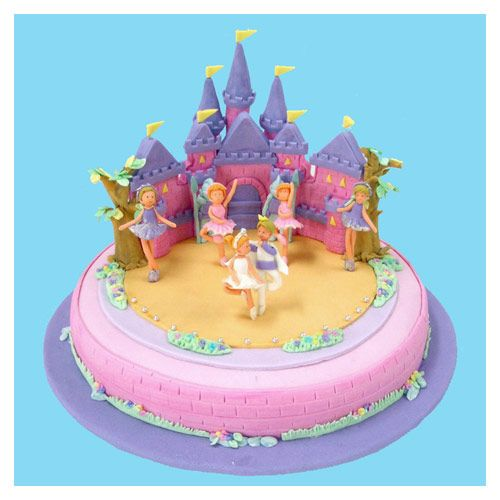 Princess castle cake cakes more pinterest princess birthday cakes send a professionally baked and decorated cake to anyone in bangkok thailand birthday cake delivery service you can send a celebration with sciox Choice Image