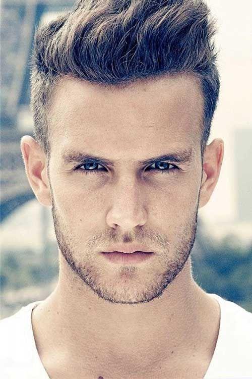 Dunklen Dicken Haarschnitte Fur Mann Frisuren Manner Frisuren