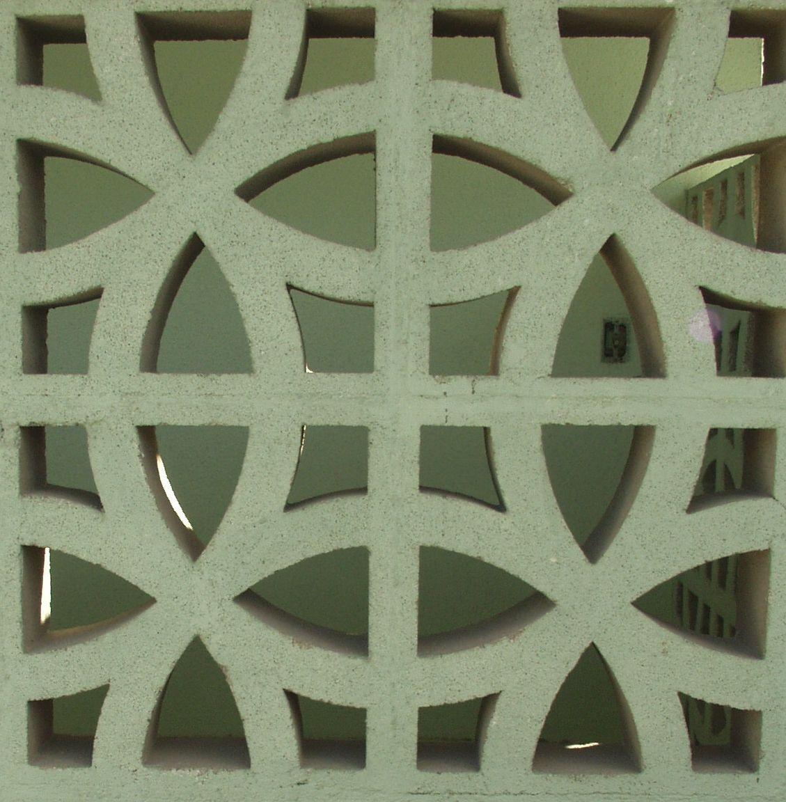 Mid Century Cement Blocks Decorative Concrete Blocks Cement