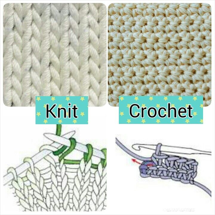 Knitting And Crochet Quotes : Knit vs crochet comment below which one you like more
