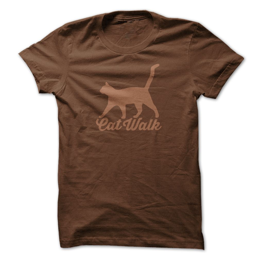 Cat Walk Brown Special Edition T-Shirts, Hoodies. ADD TO CART ==►…