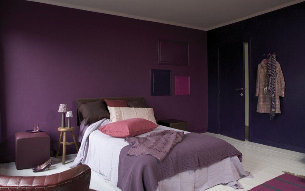 Paarse Slaapkamer Ideeen : Een slaapkamer hoeft helemaal niet saai te zijn slaapkamer