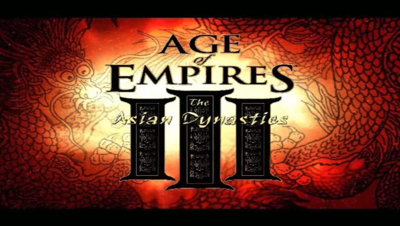 Age Of Empires Iii The Asian Dynasties Opening Logo Age Of