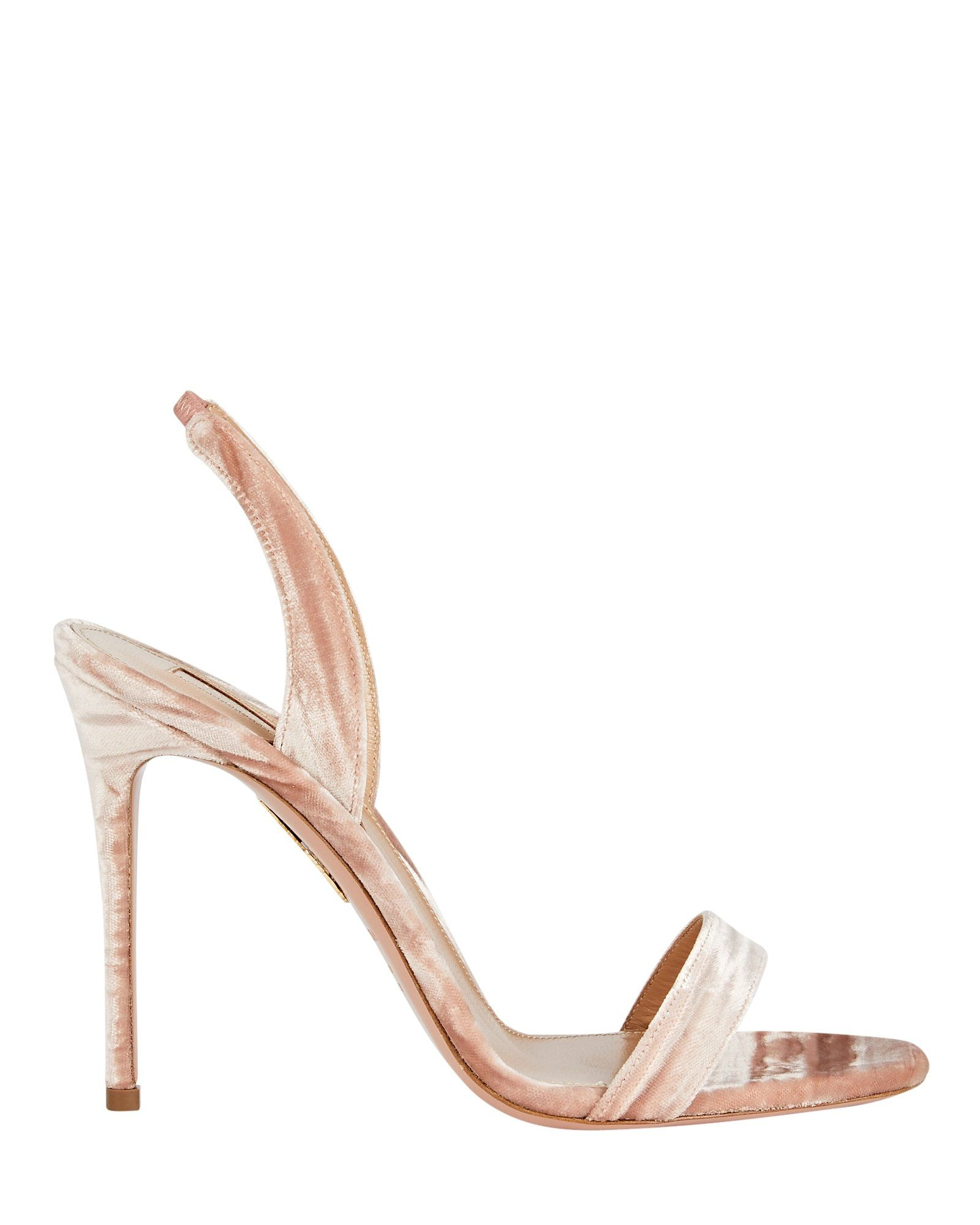 So Nude 105 Velvet Sandals