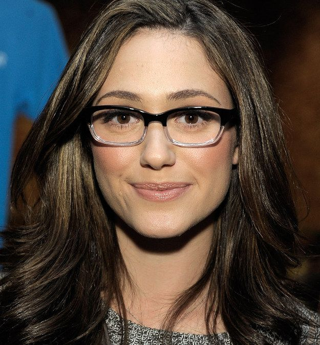 Black Frame Glasses Celebrities Wear : Emmy Rossum Emmy rossum, Celebrity and Wearing glasses