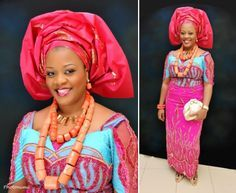 Nigerian Wedding: 30 Gorgeous Igbo Traditional Bridal Styles, The George Wrappers, Igbo Blouse & More | Nigerian Wedding #nigerianischehochzeit