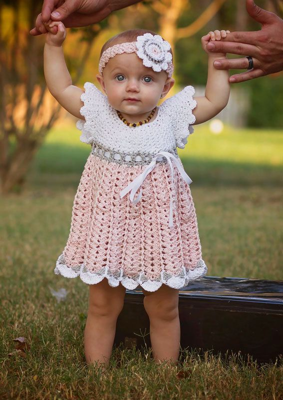 Crochet Baby Dress Pattern Baby Crochet Dress Pattern Crochet ...