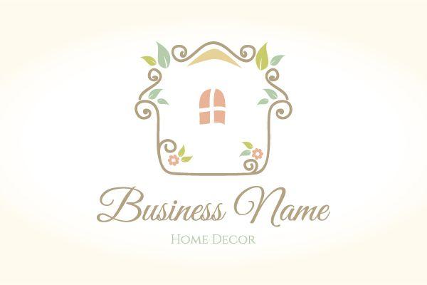 Home Decor Logo Decor Logo Home Logo House Logo Design