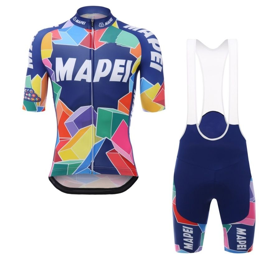 2017 pro Team MAPEI summer mens quick-dry Cycling jerseys breathable bike  clothing MTB Ropa 27a5d85fc