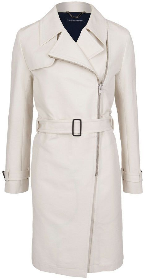 Pin for Later: Dig Out the Most Stylish Spring Trench Coats French Connection Freeway Cotton Belted Trench French Connection Freeway Cotton Belted Trench (£66, originally £165)
