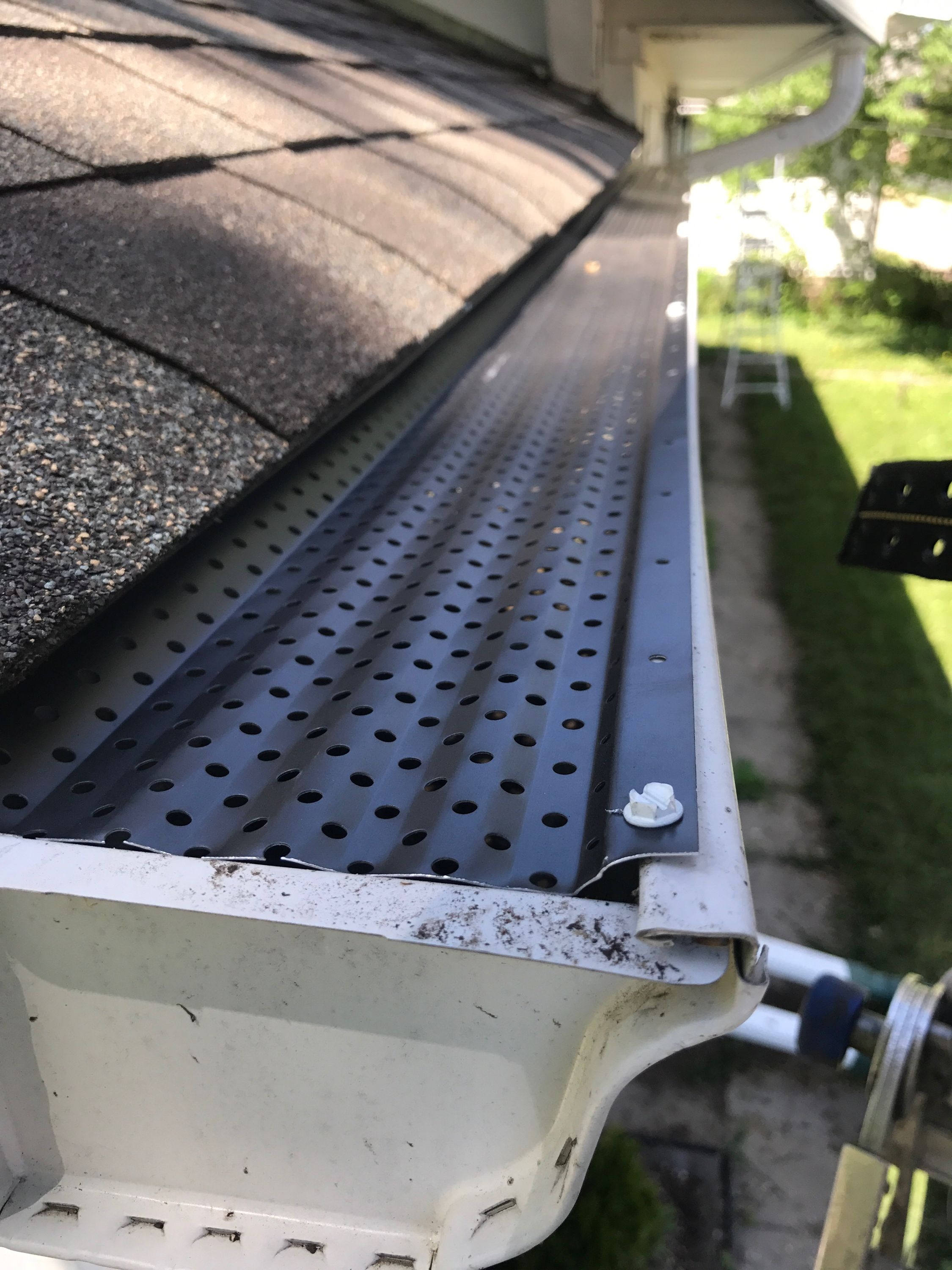 Pin By Joe Gutters Llc On Leaf Protection Our Form Of Gutter Helmet And Gutter Rx Gutter Helmet Gutter Structures