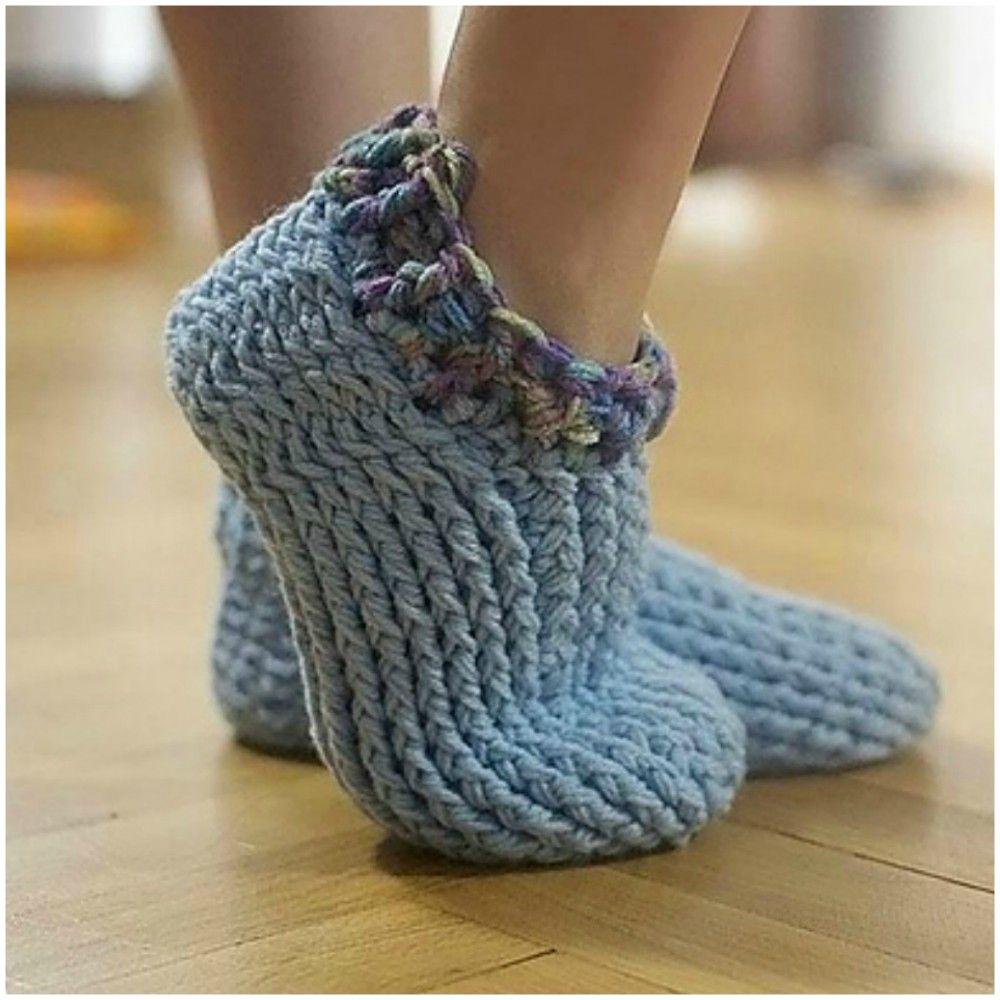 Chunky Crochet Slippers Us Sizes Womens 5 12 Mens 6 15 Free