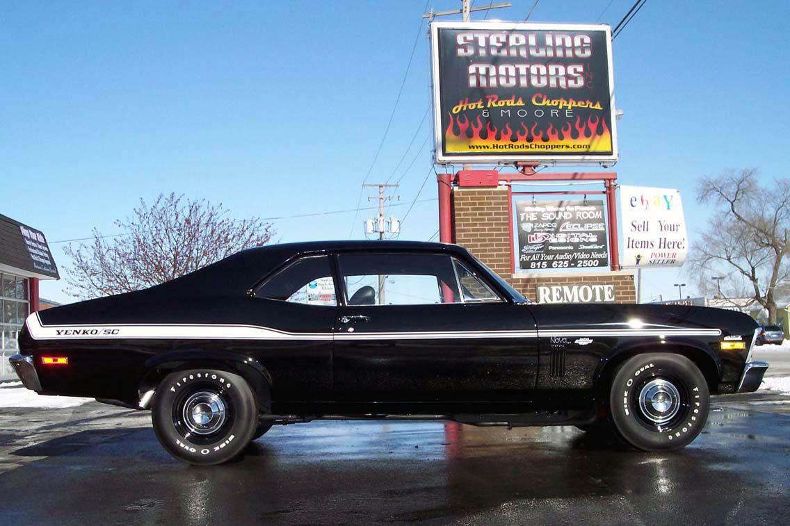 1969 Chevrolet Nova Yenko Maintenance Restoration Of Old Vintage
