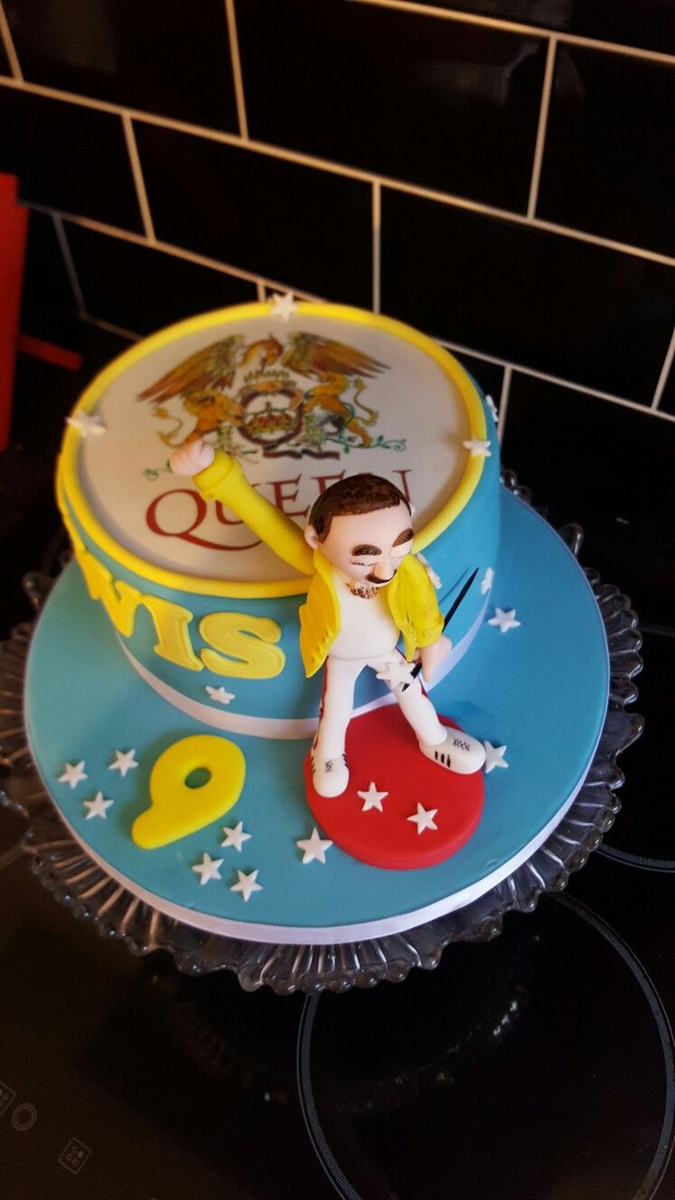 Freddie Mercury Birthday Cake