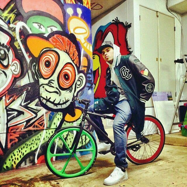 Chris Brown graffiti | ¡Graffiti! | Pinterest | Chris ...