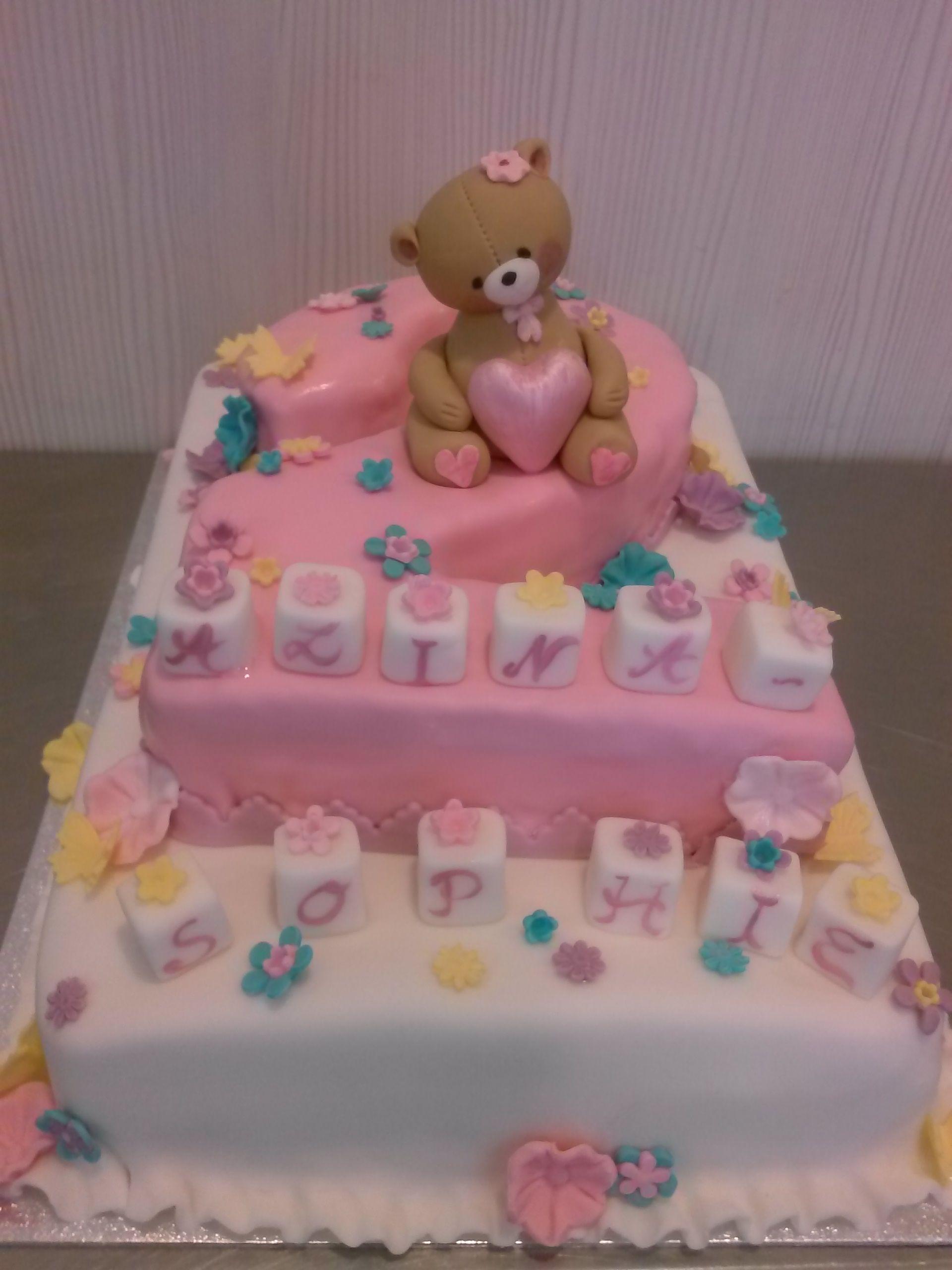 Torte Zum 2 Geburtstag Ja Fur Ein Madchen Fur Grosse Und Kleine