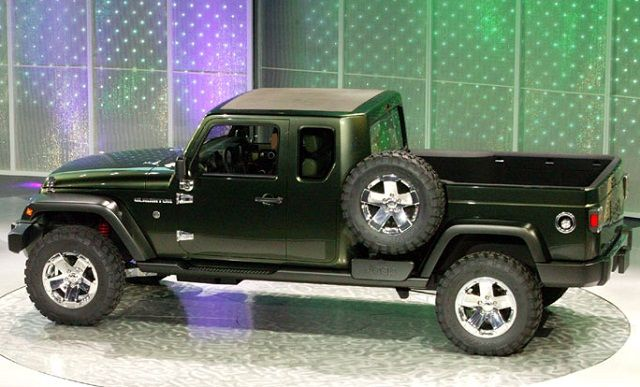 2016 Jeep Truck >> 2016 Jeep Gladiator Side View Cool Cars Jeep Gladiator