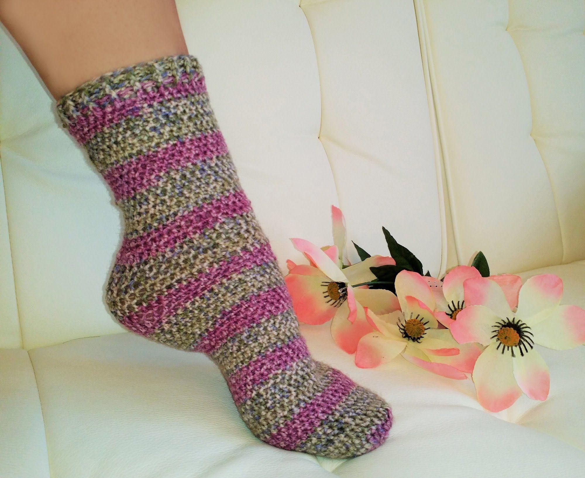 Crochet Glamas Easiest Tube Socks Everrrr Crochet Knitteach