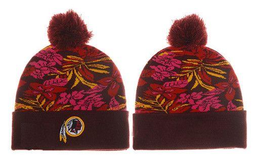 Washington Redskins Winter Outdoor Sports Warm Knit Beanie Hat Pom ... cdcd15ff06bf