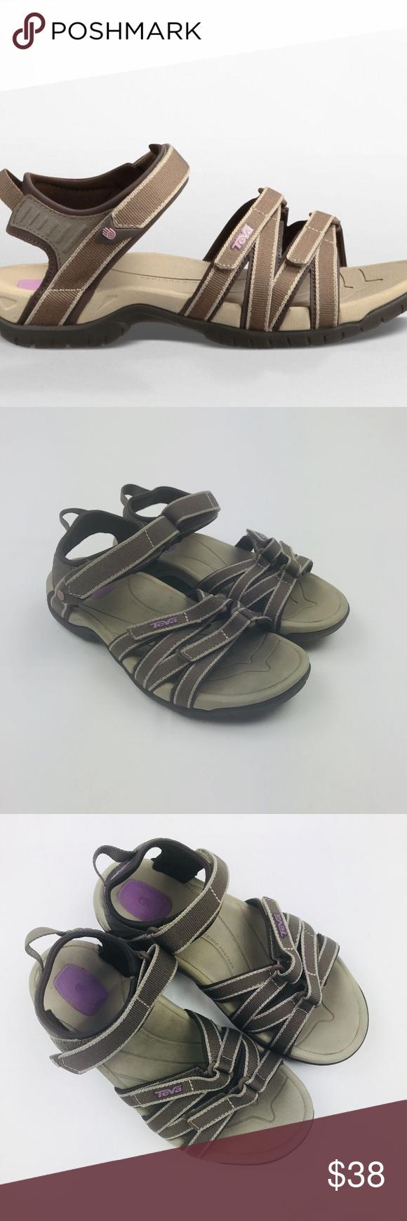 43dc8bbb20d1 Teva Adjustable Comfort Walking Sandal 5.5 Teva Women s Tirra Chocolate  Chip Strappy Adjustable Comfort Walking Sandal 5.5 Overall good