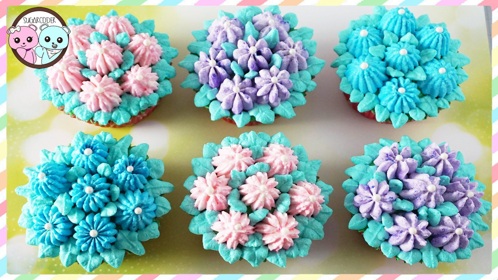 Cake Decorating Piping Flowers : RUSSIAN PIPING TIPS: FLOWER CUPCAKES, FLOWER CAKE ...
